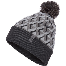Black Diamond Pom Muts met klep, grey icon